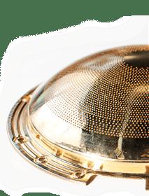 Boiler flame diffuser plate