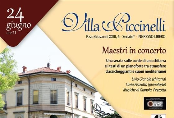 Concerti in villa - Piccinelli