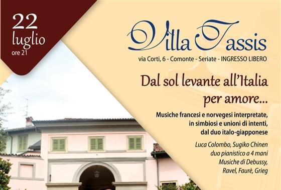 Concerti in Villa - Villa Tassis