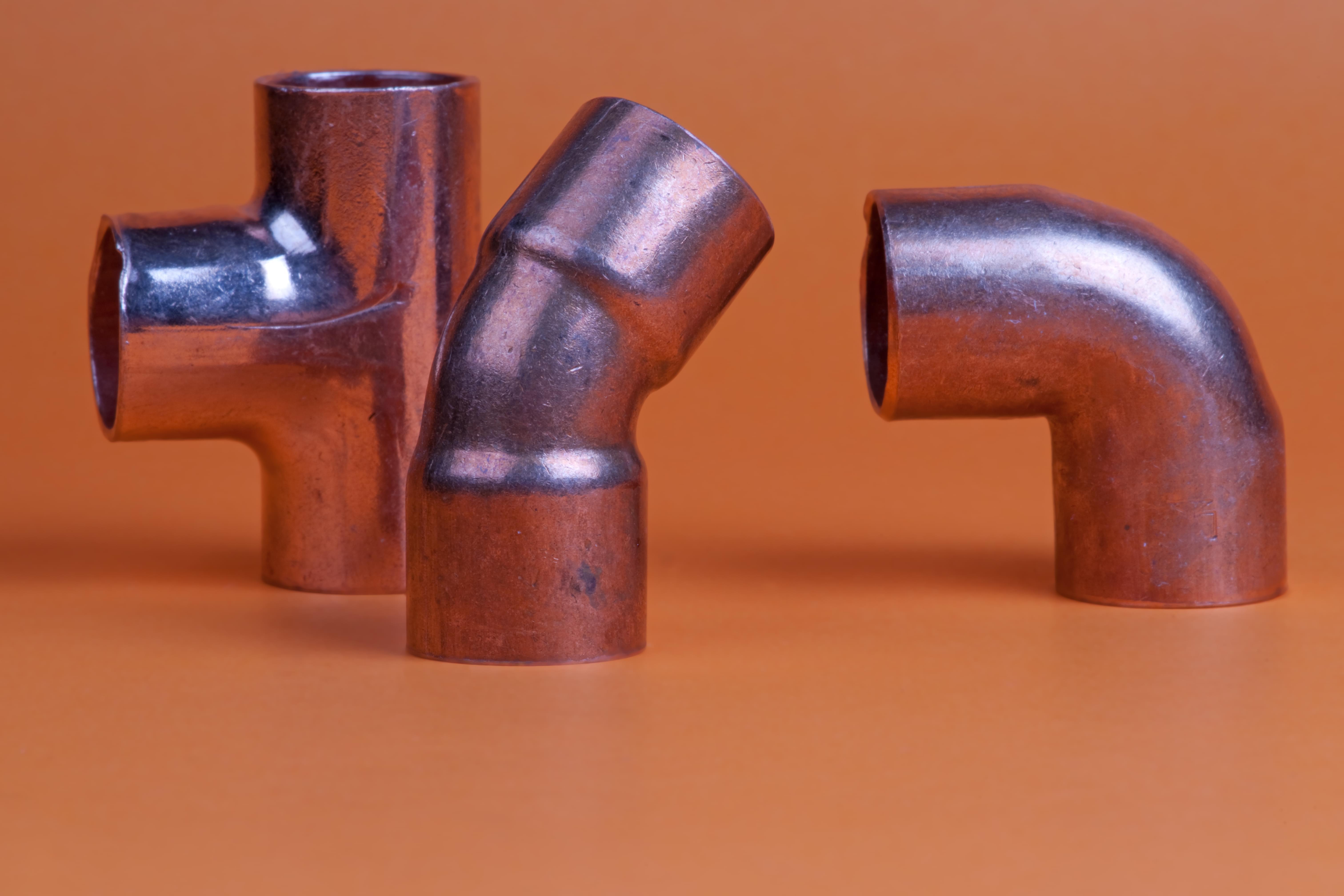 Bending copper