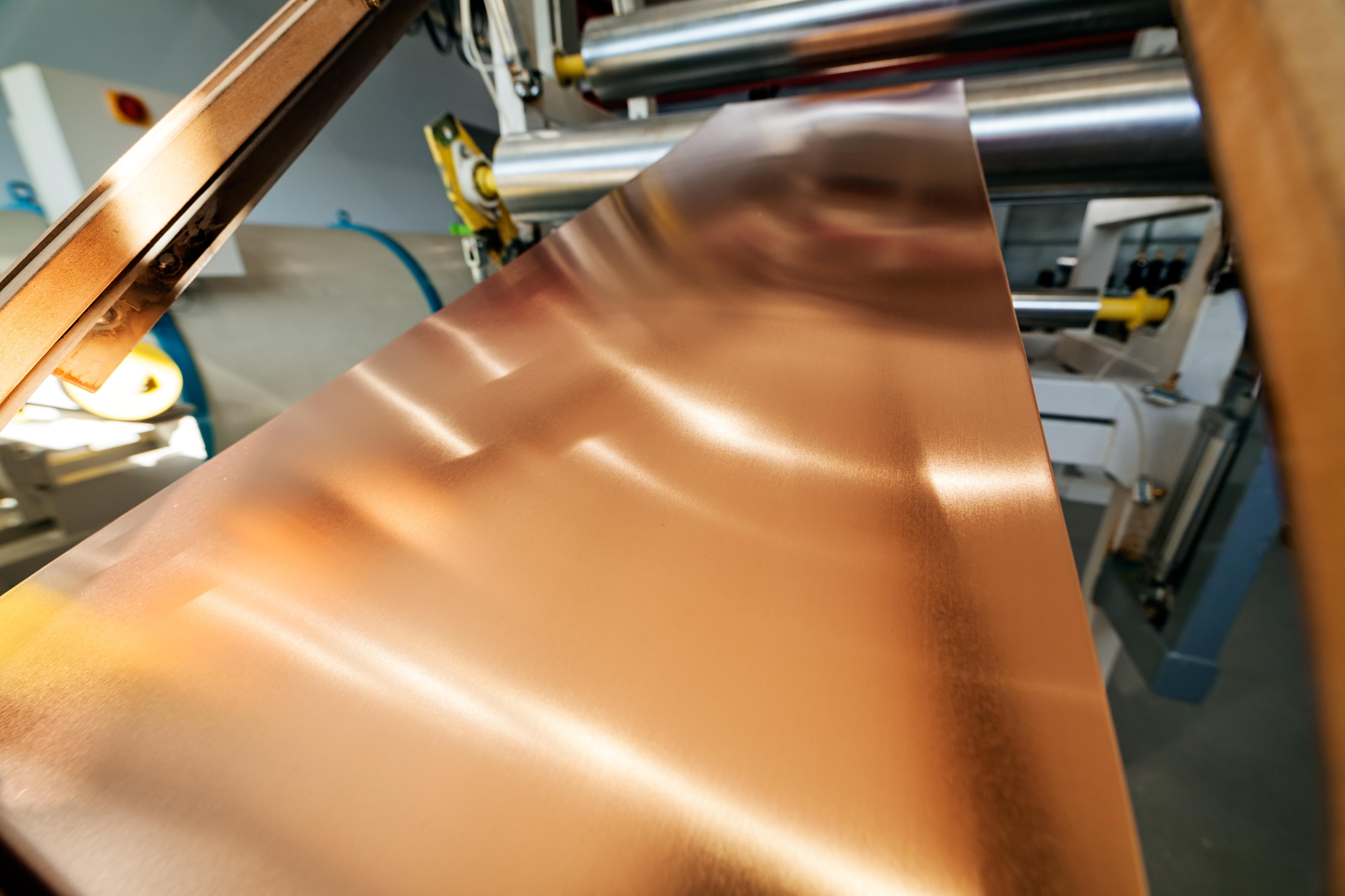 Copper bending