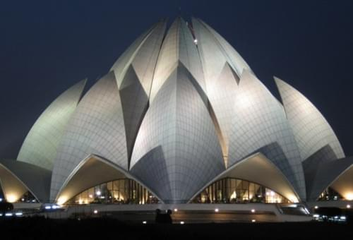 Lotus Temple in Delhi - India