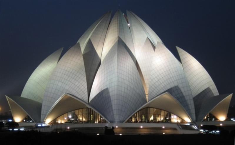 Lotus Temple in Delhi - India