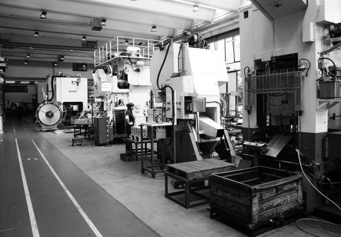 Metal blanking machines 4