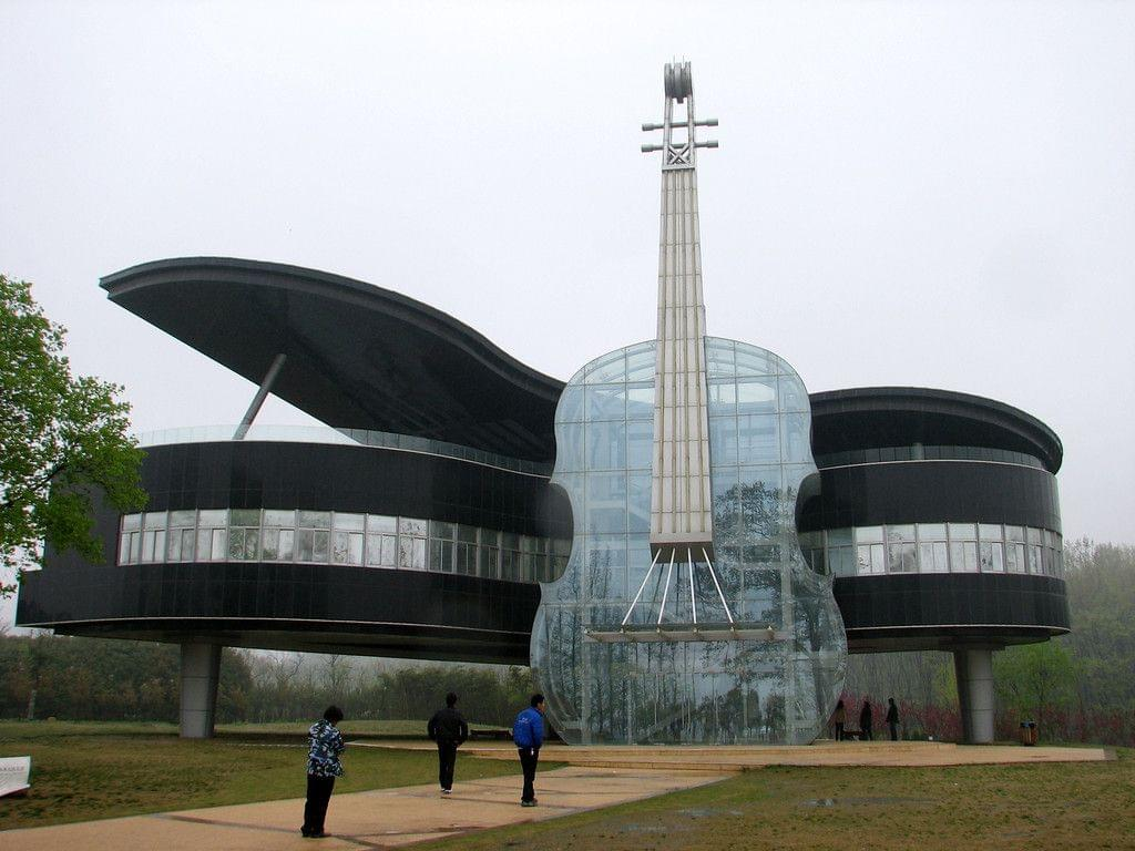 Piano House in An Hui Province China