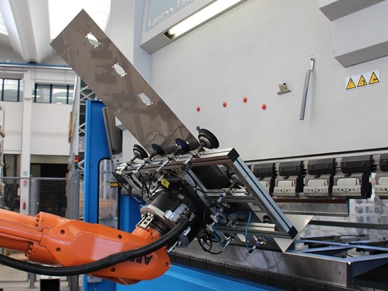 principale - Taglio laser piegatura