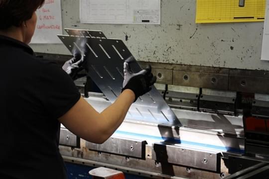 Sheet metal bending 3