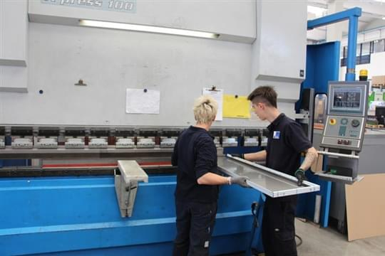 Sheet metal bending 7
