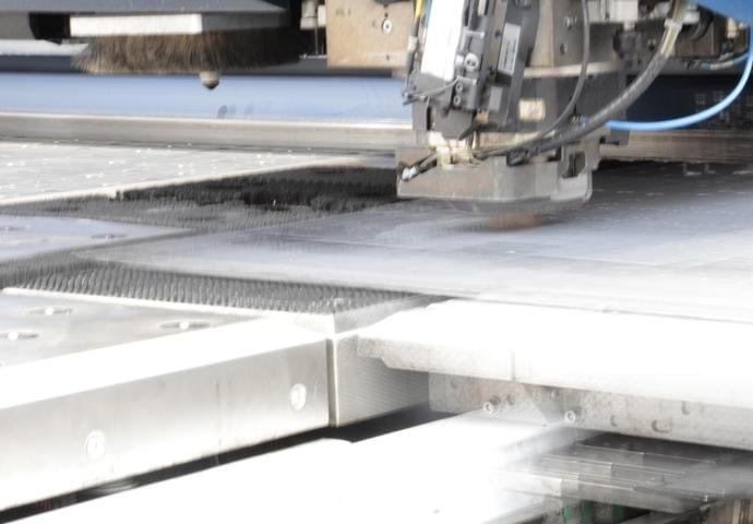 Sheet metal punching 5