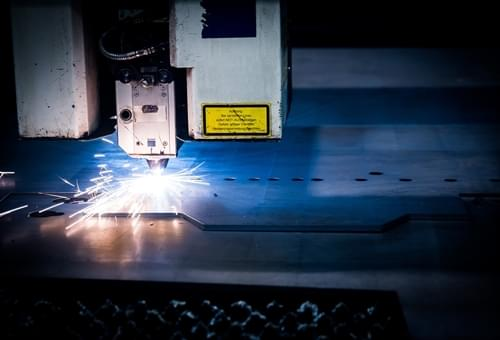 Taglio laser metalli
