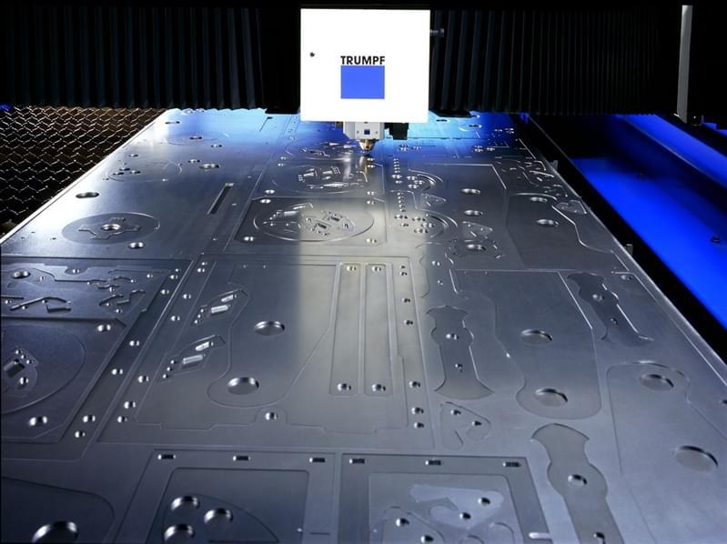 When sheet metal laser cutting turns into design